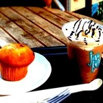 シアトルズ ベストコーヒー - お気に入りの場所、テラスが気持ちいいです