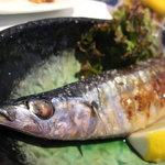 山野草 - 秋刀魚の塩焼き