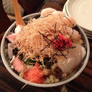 小麦っ娘 - 魚屋さんもんじゃ(1,300円)