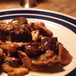 フォート グリーン - フレッシュセップ茸とかもの砂肝のコンフィのボルドレーズ \2,100