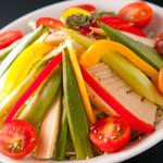 壱岐牛焼肉 みやま - 壱岐から直送の野菜も好評です