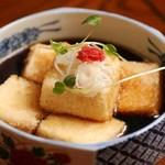 森瀧 - 揚げ出し豆腐