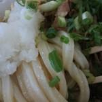 さぬき麺児 - 麺は角のハッキリしたタイプです。
