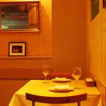 トラットリア パパミラノ - プライベートスペースはゆったりとお食事頂けます