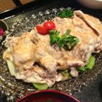 レストラン春日苑 - 甘とろ豚冷しゃぶ定食 780円