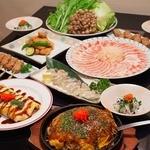 出目金 - ご宴会にも最適なお料理コースを各種ご用意しております。