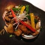 ASOBI割烹 華柳 - アワビのバターソテー