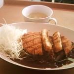 洋二朗 - チキンカツカレー中 750円