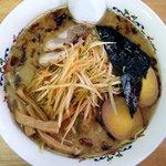 大喜 - 「大喜ラーメン 醤油豚骨+ネギ+煮卵」(2009.06)