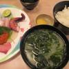 びんび家 - 料理写真:1800円『刺盛定食』2013年9月吉日