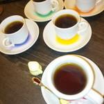 21941374 - 締めのコーヒーと1杯の紅茶