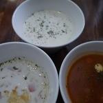 21943963 - スープは三者三様で