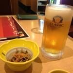海老善 - ビールはクラシック