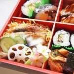 すし処 漁場 - ちらし寿司。うなぎづくし。 '13 9月中旬