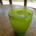 ロハスカフェARIAKE - グレープフルーツジュース