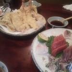 はねだ - 天ぷらとお刺身
