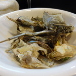 山猫軒 - こちらは食べ終わった上海蟹の殻