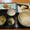 川村 - 料理写真:焼魚定食(真鯛の昆布〆)