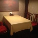 牛亭ステーキハウス - テーブル席