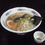 21952837 - 龍ひげ塩ラーメン 680円