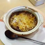 ジョナサン - オニオングラタンスープ(147円)