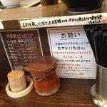 らーめん武道家 口 - 店内POP