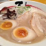 石田てっぺい - てっぺいラーメン¥690(極細麺)