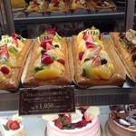 メンヒェングラードバッハ - おいしそうなフルーツに目が行きます