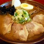 ラーメン寳龍 - 黒帯味噌チャーシュー