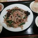 21953979 - 野菜と玉子炒め定食