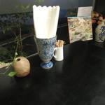 茶々工房 - テーブル上