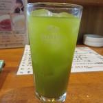 居酒屋 春秋 - 緑茶ハイ