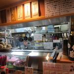 居酒屋 春秋 - 整理整頓 綺麗な厨房