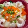 Dommarutanakaya - 料理写真:イカ・ホタテヅケ丼( 週替わり丼 )~☆