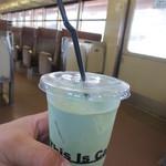 21957934 - 静岡緑茶ラテ 450円