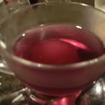 舞桜 - ドリンク写真:コンポートのゼリー