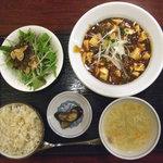 家寶 - マーボー定食(2009年9月)