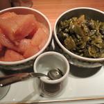21962288 - 辛子明太子とからし高菜は食べ放題です