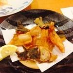 小判寿司 - メイタガレイの唐揚げ