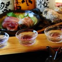 居酒屋 ごえん - ごえんの日本酒はうまいもん揃い!他じゃなかなか飲めないものもあります♪