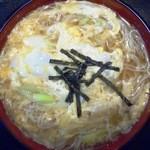 安達屋 - 温麺(卵とじ)