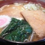 安達屋 - 温麺(きつね)
