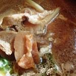 竹林亭 - 味噌煮込みうどん(790円)
