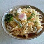 や寿野食堂 - 料理写真:天ぷらうどん
