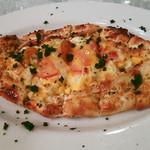 ナザール - ペイニール ピデ(チーズと玉子のピザ)♪