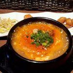 韓国料理 満月 - スンドゥブ定食