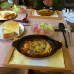 Cafe&gallary 楠 - ハンバーグシチューセット