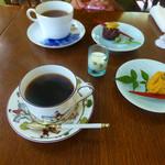 Cafe&gallary 楠 - コーヒーと和菓子のセット