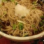 仁行 - おろし蕎麦(辛味大根のぶっかけ蕎麦)¥1470