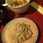 仁行 - カレー南蛮(つけ汁蕎麦)¥2210